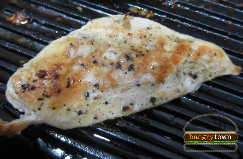 Grilled and marinated chicken